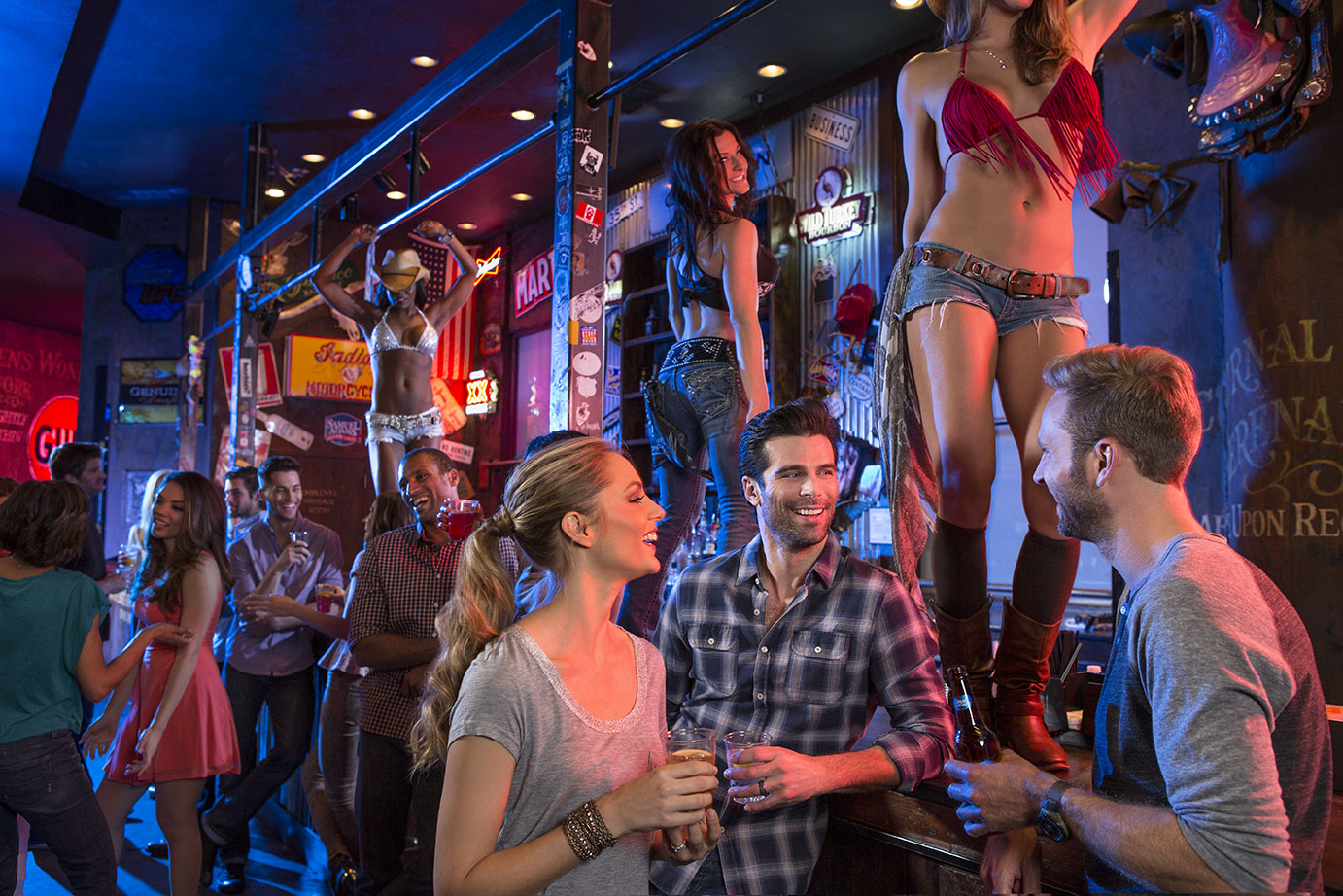 NYNew York New York Hotel Las Vegas Coyote Ugly